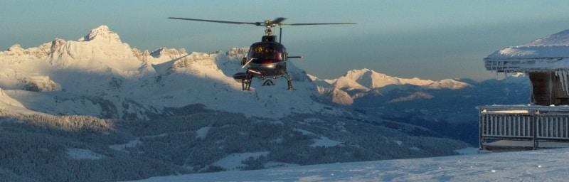 Hélicoptère Annecy - Nos transferts au départ de l'Aéroport d'Annecy .